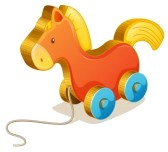 15028747-illustration-of-a-toy-horse-on-white